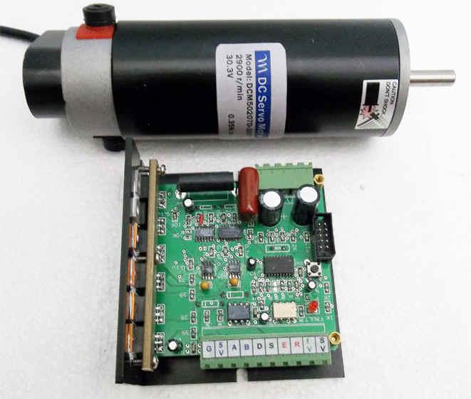 Cnc Servo Motor Controller Circuit